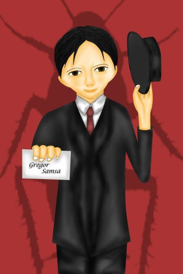 As Gregor Samsa awoke one morning from uneasy dreams he found himself transformed in his bed into a gigantic insect (Franz Kafka).