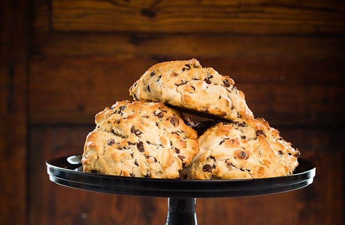 Glutenfria scones med choklad