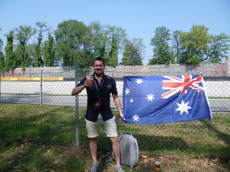 Flying the flag - Monza 2012