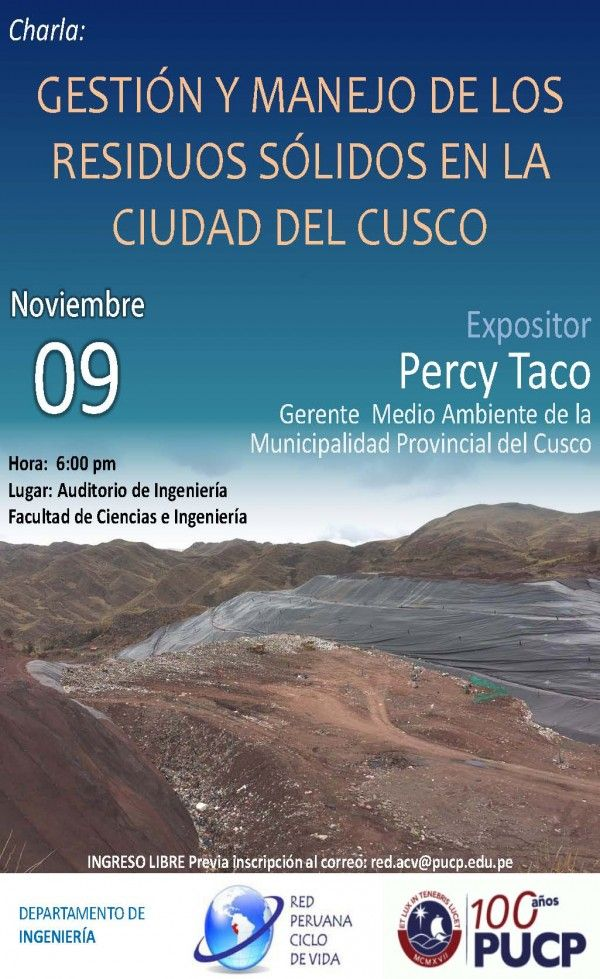 Gestion y manejo de los residuos solidos en la ciudad del Cusco