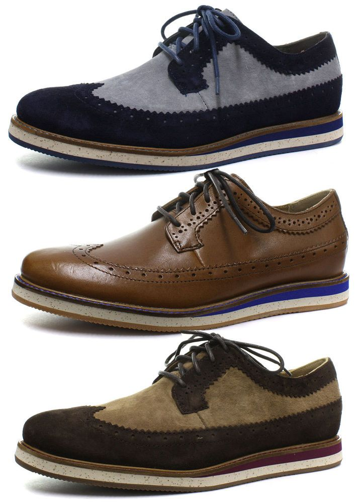R 353 17 New With Box In Roupas Calcados E Acessorios Calcados Masculinos Casual Mens Fashion Shoes Hush Puppies Shoes Brogue Shoes