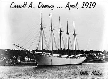 Mary Celeste    Approximately 50 years after the mysterious disappearance of the crew of the Mary Celeste, a similar event occurred when the schooner Carroll A. Deering was spotted around the coast of North Carolina on January 31, 1921. When rescue ships finally reached her, they discovered, to their shock that the Deering's entire crew was missing.