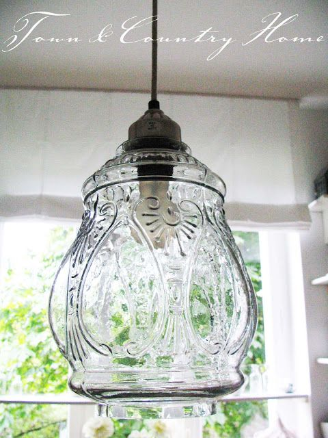 TOWN COUNTRY HOME: Eine neue Lampe ...