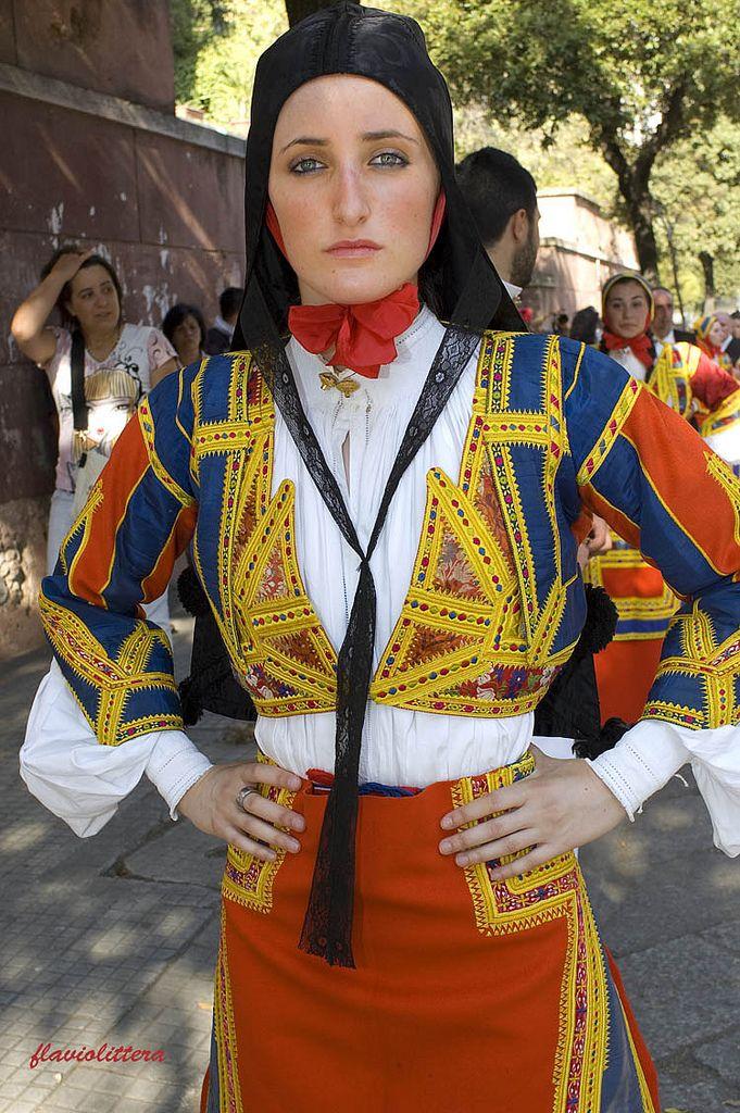 Sardinian - Desulo traditional dress