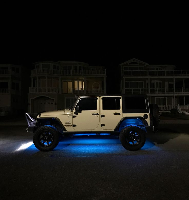 Muscle Car Rims >> 2011 JKU full underglow kit Bluetooth color change bars ...