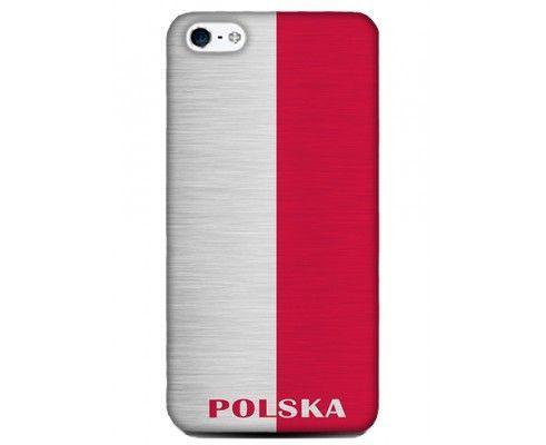 Obudowa z akcentem Polski - iPhone 5/5S
