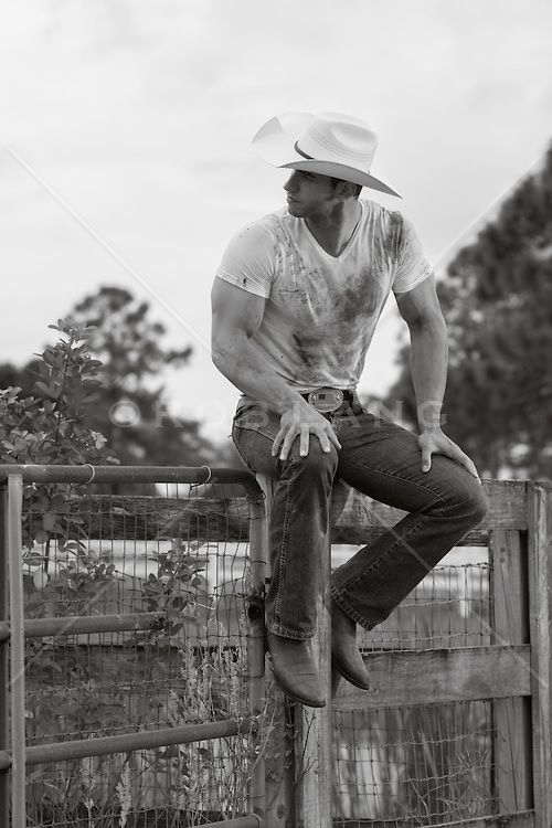 jzthere:  yesnowman:  I'm a sucker for a cowboy!  For good reason buddy…