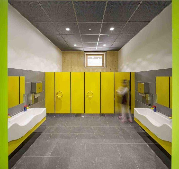 This Elementary School Bathroom Design It 39 S Elementary Old School Sinks A Tuvaletler Ic Mekan Fikirleri Tasarim