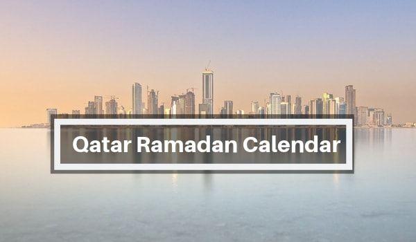 Ramadan 2019 Qatar Calendar Timetable Fasting Timing Prayer Time Ramadan Prayer Times Prayers