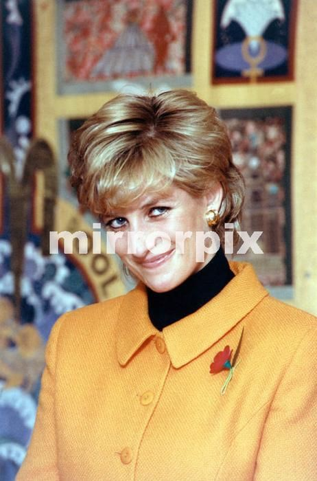 07 November 1995 Princess Diana arrives in Liverpool to open a new Women's Hospital