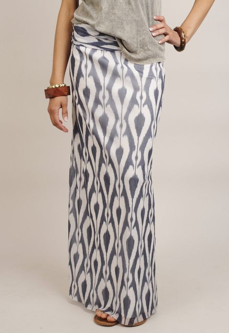 Ikat Maxi Skirt by Sweet Pea