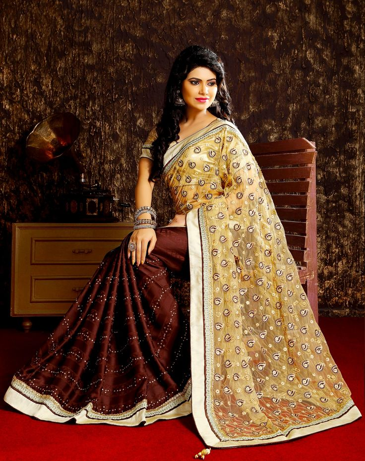 Elegance is the only Beauty that never  fades We understand a woman's need to look special and ... exquisite collection of beautiful latest designer sarees that make you unique and different from others.