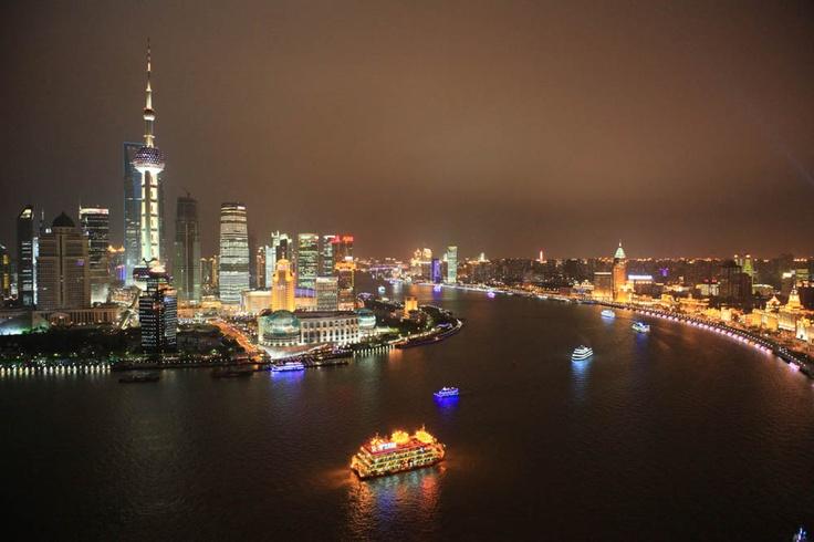 Rio Huangpu - Shanghai