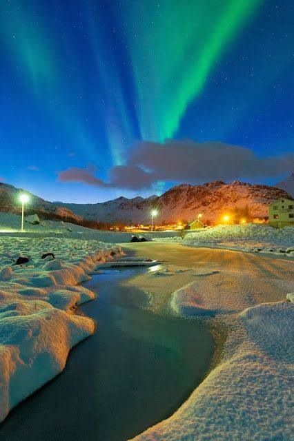 #Northern Lights in #Norway