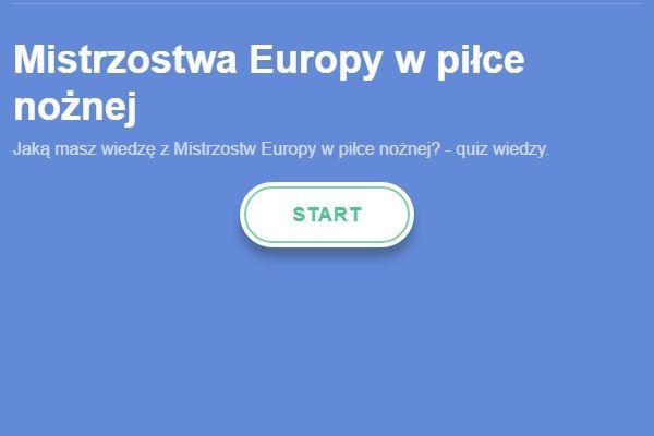 Quiz wiedzy dotyczący jednego z najważniejszych turniejów piłkarskich • Mistrzostwa Europy w piłce nożnej - rozwiąż quiz online >> #quiz #euro #euro2016 #football #soccer #sports #pilkanozna