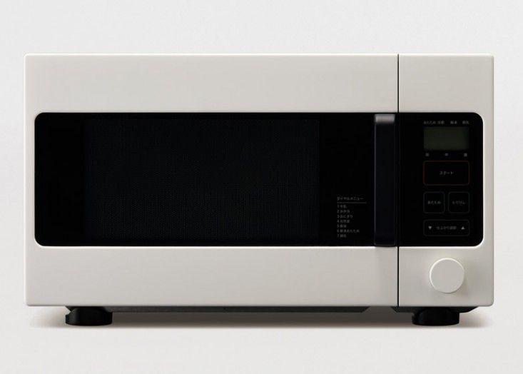 Naoto Fukasawa's microwave for Muji | Remodelista