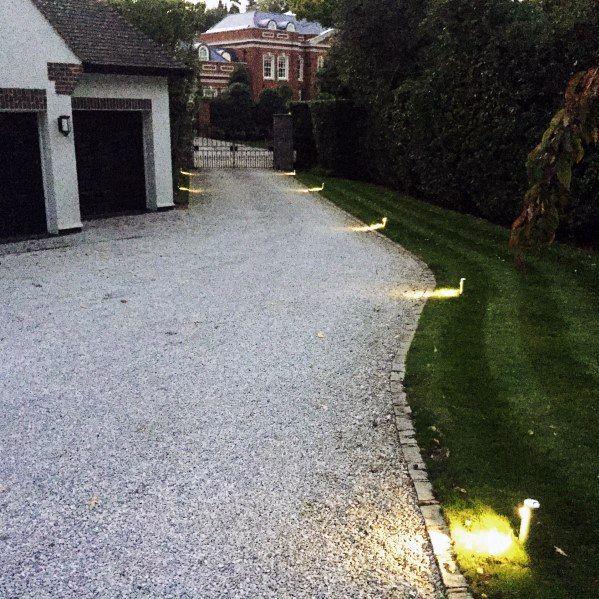 Top 40 Best Driveway Lighting Ideas Landscaping Designs
