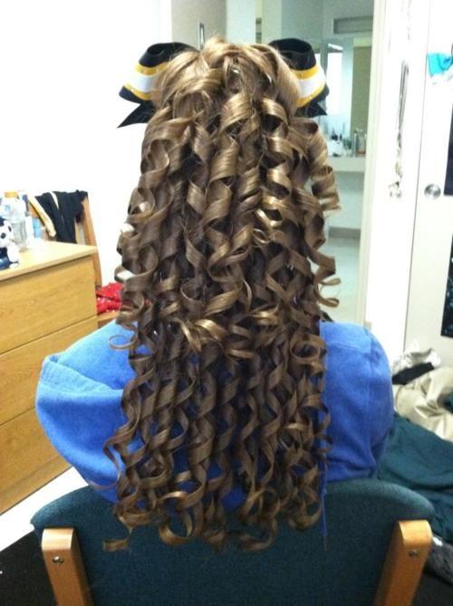Stupendous 1000 Images About Cheer Hair On Pinterest Seasons Her Hair Short Hairstyles For Black Women Fulllsitofus