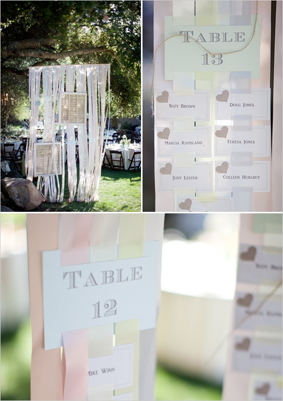 Plan de table au vent