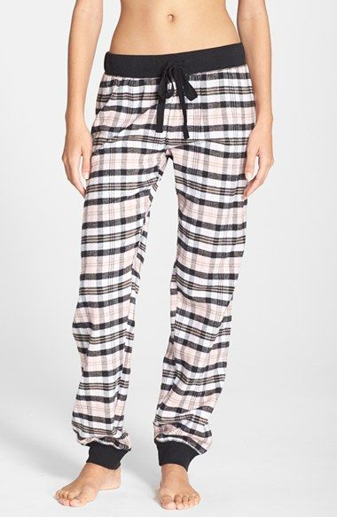 PJ Salvage Flannel Pajama Pants available at #Nordstrom