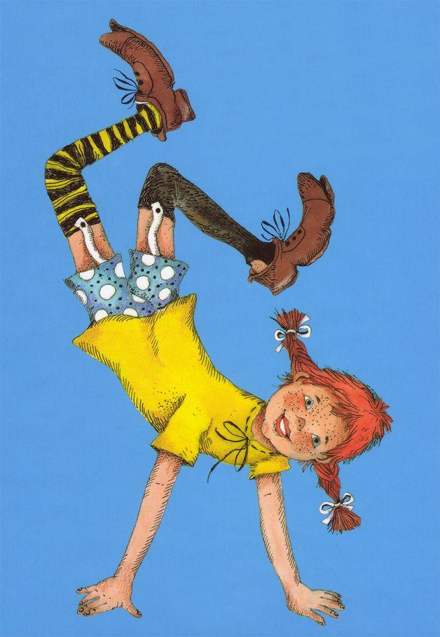 Kostüme für Erwachsene - Pippi Langstrumpf Style Kostüm für Erwachsene - ein Designerstück von ABRA-Design bei DaWanda