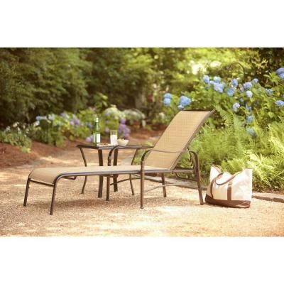 135 Home Depot Hampton Bay Altamira Diamond Patio Chaise Lounge