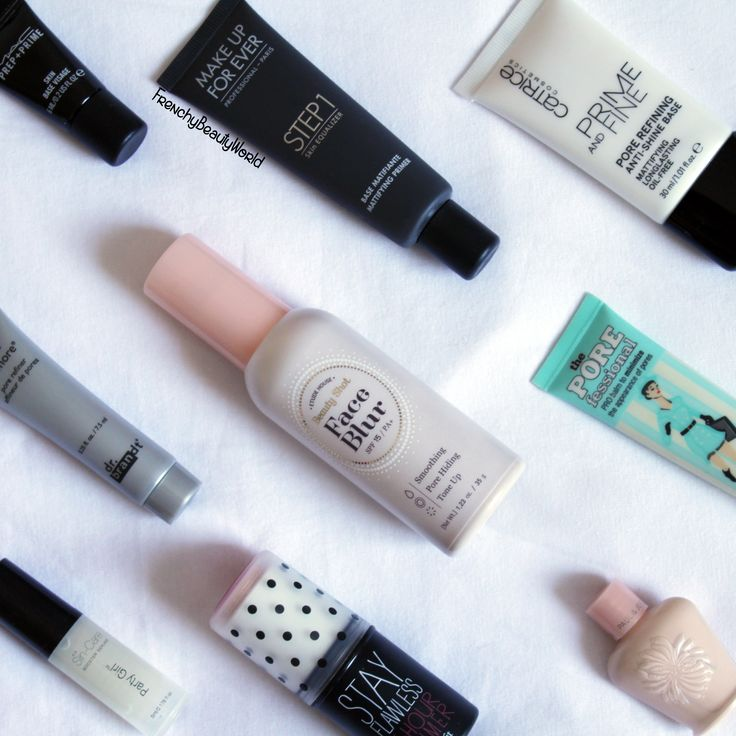 Face primers collection   mac makeupforever etude house benefit drbrandt paulandjoe catrice mufe
