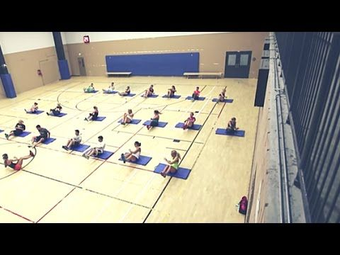 Heavy Weight Full Body Boot Camp Circuit Workout : Group Training Exercise Ideas - YouTube