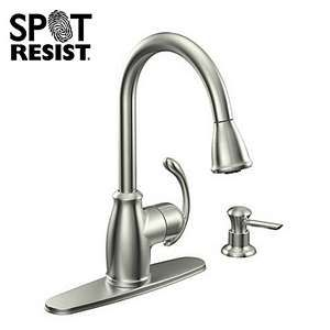 Moen Terrace Stainless Steel Kitchen Faucet