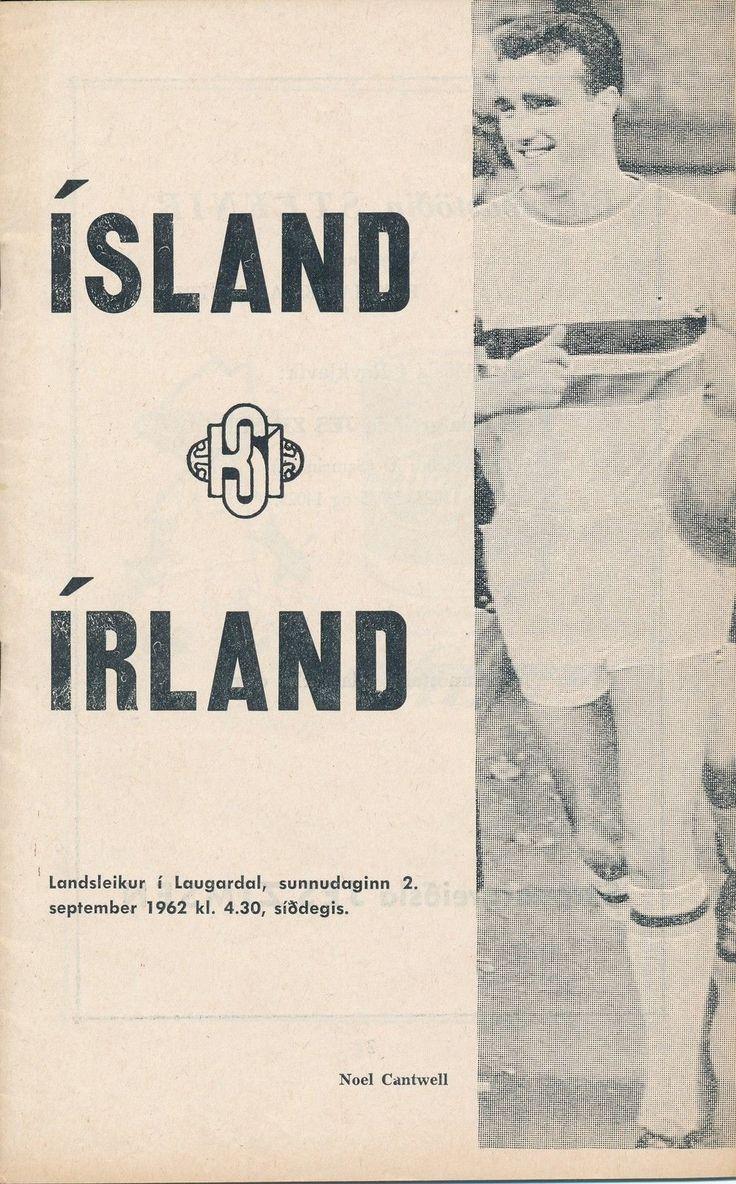 1962 Iceland v Ireland