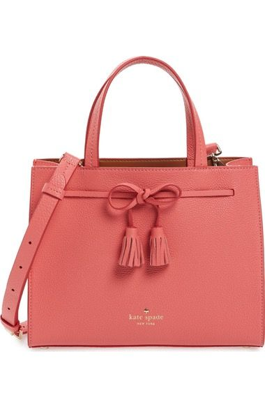 KATE SPADE Hayes Street Small Isobel Leather Satchel. #katespade #bags #leather #hand bags #satchel #