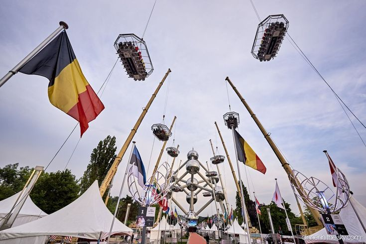'Dinner in the Sky' Serves Brussels, Marks 10th Anniversary
