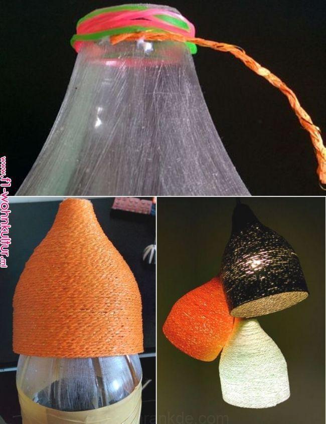 diy lampe bricolage confettis pinterest bricolage