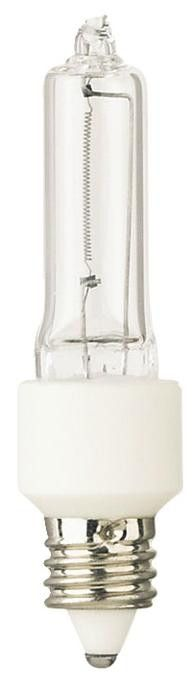 40 Watt Halogen Krypton/Xenon T3 Single-Ended Light Bulb