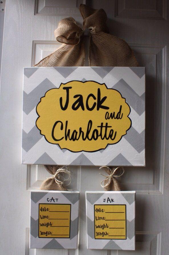 The 25 best hospital door decorations ideas on pinterest for Baby boy door decoration