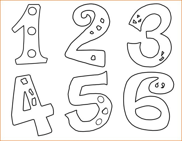 Inspired Picture Of Numbers Coloring Pages Albanysinsanity Com Printable Preschool Worksheets Kindergarten Colors Printable Worksheets