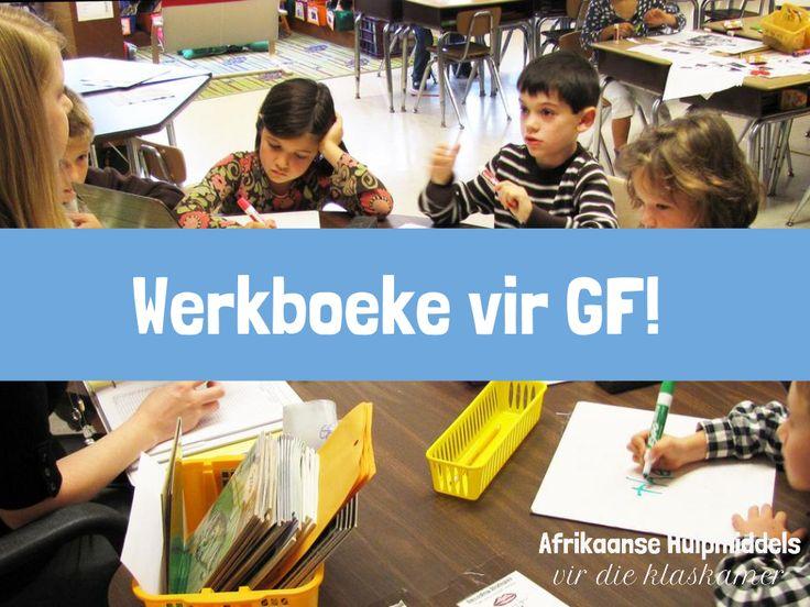 Werkboeke vir die GF!