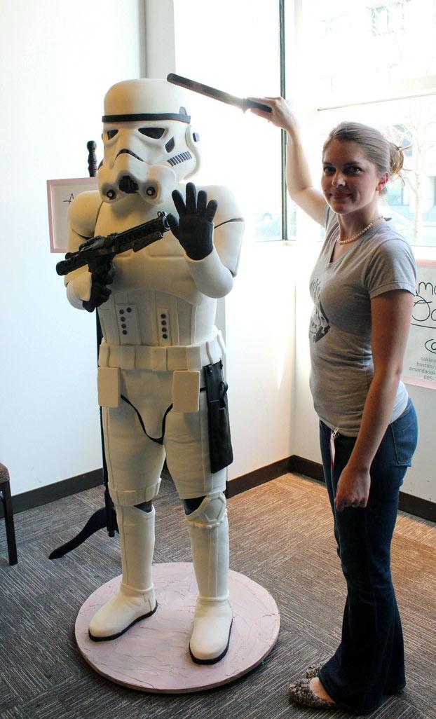 6 foot Stormtrooper cake!!