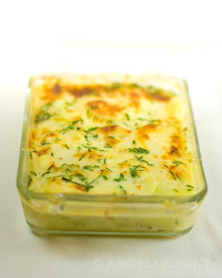 Aardappelgratin, een lekker Frans vegetarisch bijgerecht