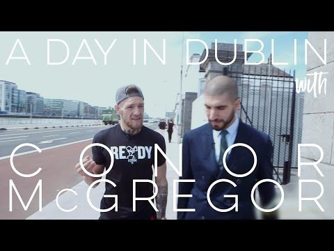 MMAFightingonSBN: A Day in Dublin With Conor McGregor - On July 17, 2014, we took a stroll around Dublin with Conor McGregor. This interview was shot two days before McGregor's return fight in Dublin versus Diego Brandao. In the interview, McGregor talks about his rise in popularity, his humble beginnings, how his career almost never was, his future plans, and much more.