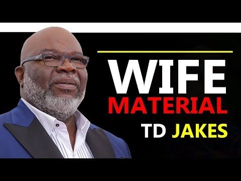 TD JAKES ▻ PROVERB 31 WOMAN   Motivational Messages   Td jakes