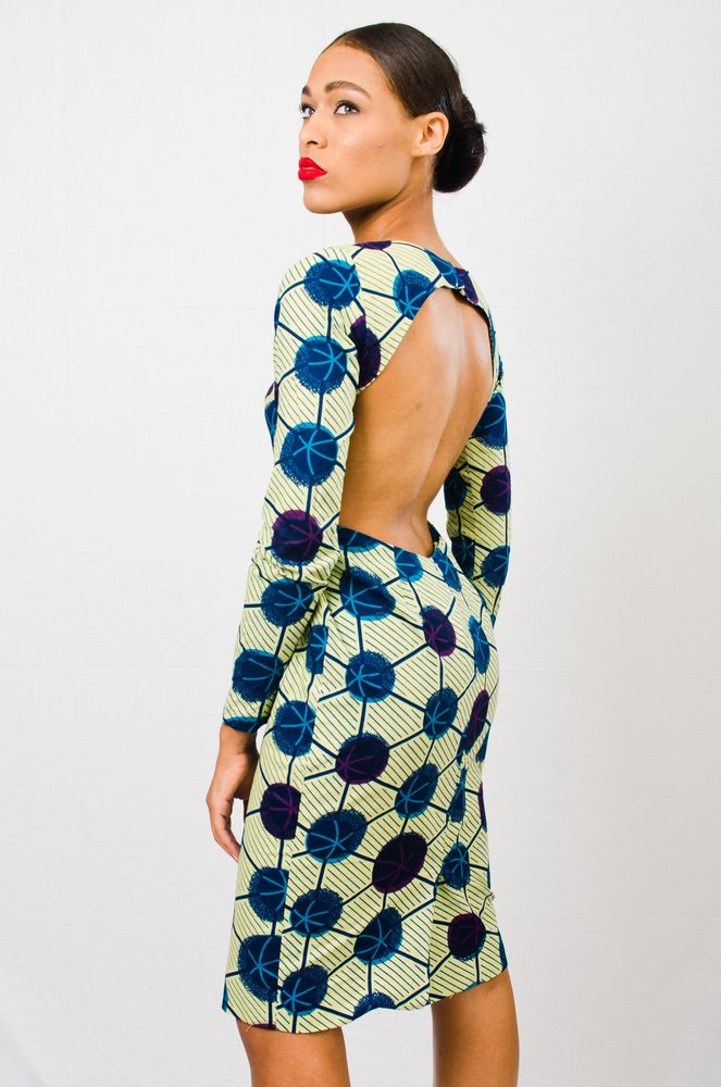 Colorful Easy-to-Wear African Prints with Asiyami Gold - SS14 Okayafrica.