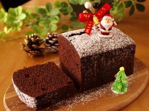 HMでクリスマスの超簡単☆チョコレートケーキ レシピ・作り方 by めろんぱん@めろんカフェ|楽天レシピ