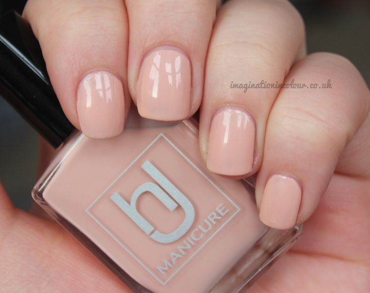 HJ Manicure Peach Blossom review and swatches by Imaginationincolour.co.uk
