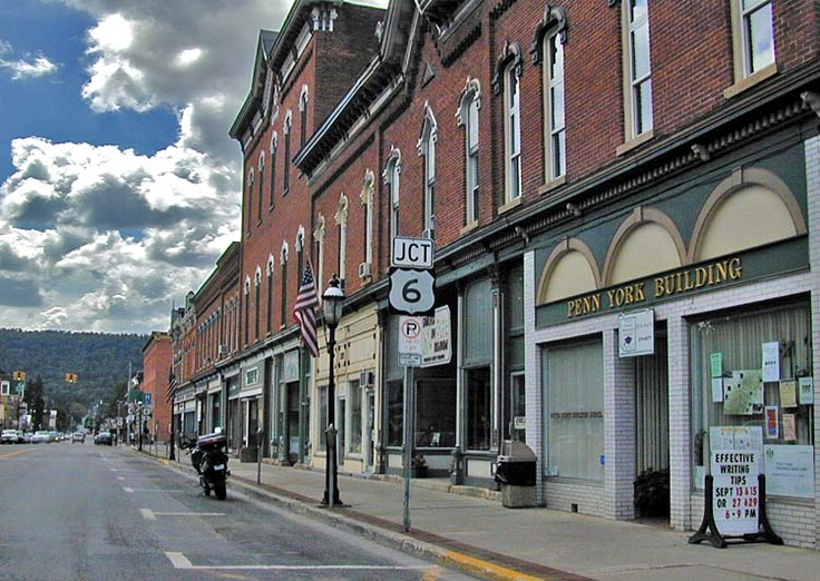 Downtown Coudersport PA