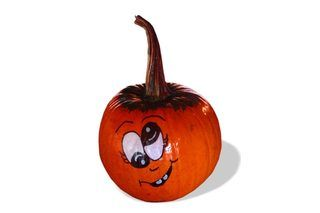 How to Paint Cute Pumpkin Faces on Pumpkins | eHow