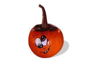 How to Paint Cute Pumpkin Faces on Pumpkins   eHow