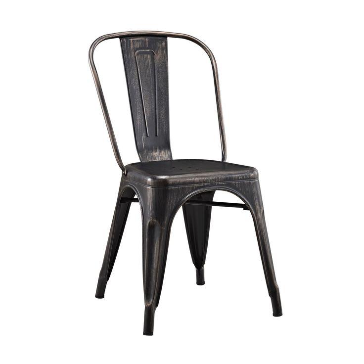 Walker Edison Metal Cafe Chair   Antique Black  Metal Caf Chair   Antique  Black Best 25  Metal cafe chairs ideas on Pinterest   Metal dining  . Metal Cafe Chairs Sale. Home Design Ideas
