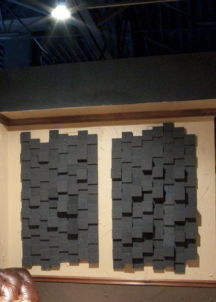 48 Sq Ft Cityblox Hybrid Acoustic Foam Tile Next Acoustics
