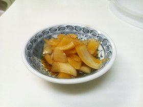 【韓国】ヤンパチャンアチ(玉ねぎ醤油漬)